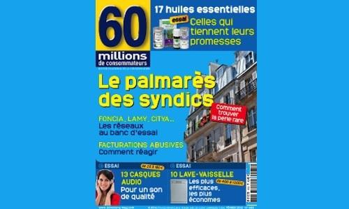 Contrats de syndic : les pratiques illégales sont généralisées selon « 60 Millions »