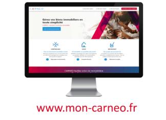 « CARNEO » : Le 1er assistant numérique immobilier.