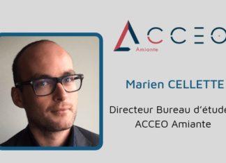 Marien CELLETTE, Directeur Bureau d'études ACCEO Amiante.