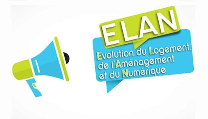 Loi Elan - évolution du logement de l'aménagement et du numérique