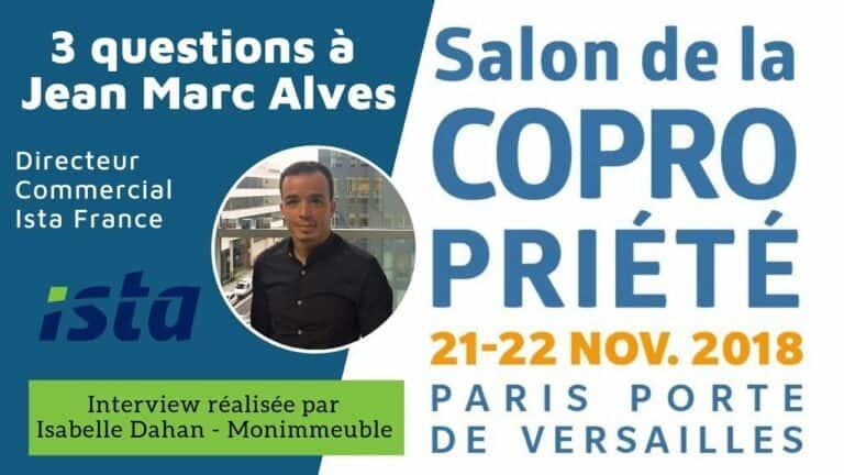 4 questions à Jean Marc Alves, Directeur Commercial Ista France