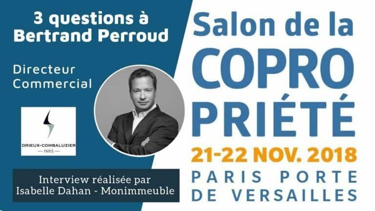 4 questions à Bertrand Perroud, Directeur Commercial de Drieux-Combaluzier