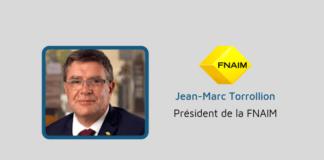 Jean-Marc Torrollion, Président de la FNAIM.