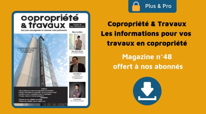 Magazine Copropriété & Travaux