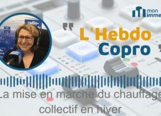 Hebdo Copro : La mise en marche du chauffage collectif en hiver