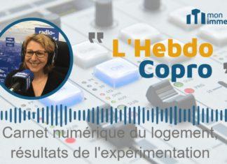 Chronique Hebdo Copro : Carnet numérique du logement, résultats de l'expérimentation