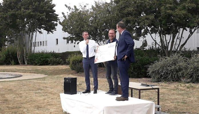Lorenove a signé une convention de mécénat avec l'association Neuf de Cœur