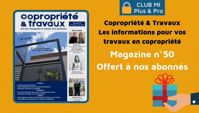 Magazine Copropriété & Travaux 50
