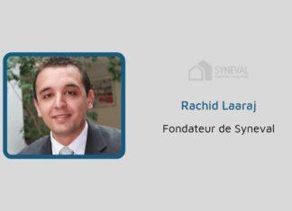 Rachid Laaraj, fondateur de Syneval, courtier en syndic