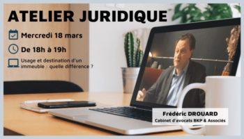 Atelier juridique 18 mars