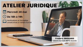 Atelier juridique 20 mai