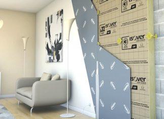 Isolation des murs par l'intérieur : lancement du système Optimax Habito®