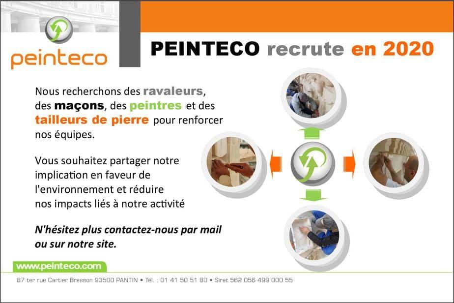 Recrutement Peinteco