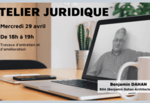 Atelier juridique 29 Avril sur les travaux d'entretien et d'amélioration