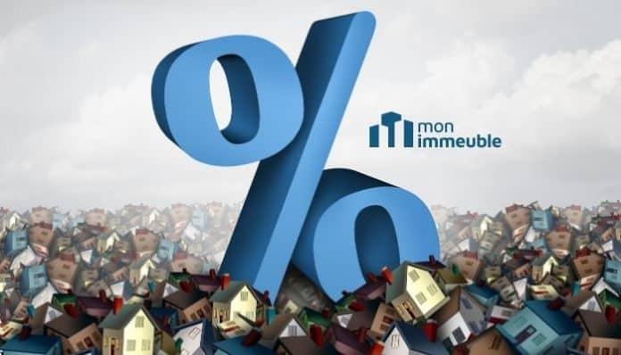 La hausse des taux d'emprunt face à la chute des demandes de prêt