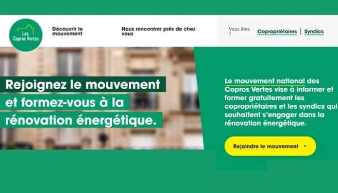 Copros Vertes, s'engager pour la rénovation énergétique