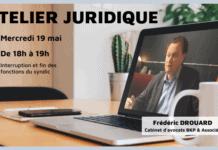 Atelier juridique mai 2021 - interruption et fin des fonctions du syndic