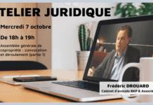 Atelier juridique octobre 2020 - Assemblée générale de copropriété