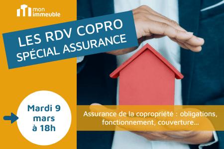 RDV COPRO - spécial assurance