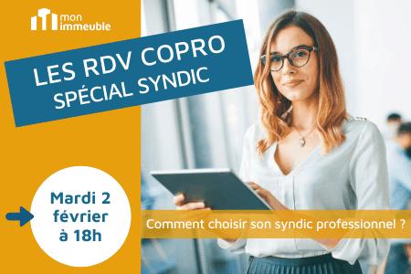RDV COPRO - spécial syndic