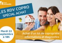 RDV COPRO - spécial Achat d'un lot de copropriété - informations et diagnostics