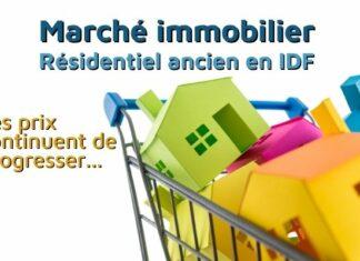 Marché immobilier : les prix progressent encore en Île-de-France