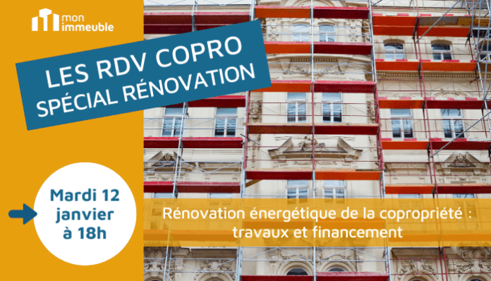 RDV COPRO Rénovation énergétique de la copropriété