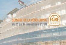 Semaine de la Réno Copro du 2 au 8 novembre partout en France