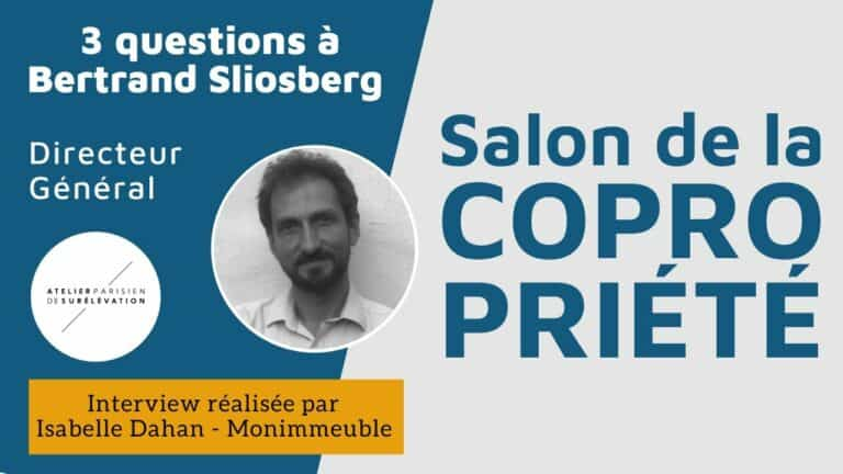 Interview de Bertrand Sliosberg, PDG d'Atelier Parisien de Surélévation