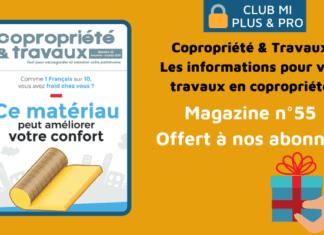 Magazine Copropriété & Travaux n°55