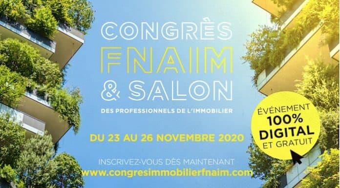 Congrès FNAIM : un format 100% digital sur 4 jours