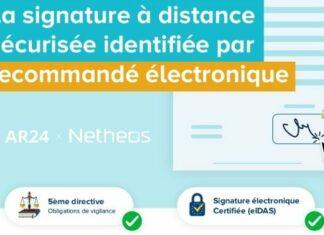 Signature à distance : une identification par recommandé électronique