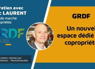 Interview d'Eric Laurent, chef de marché copropriétés chez GRDF