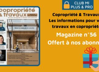 Magazine Copropriété & Travaux n°56