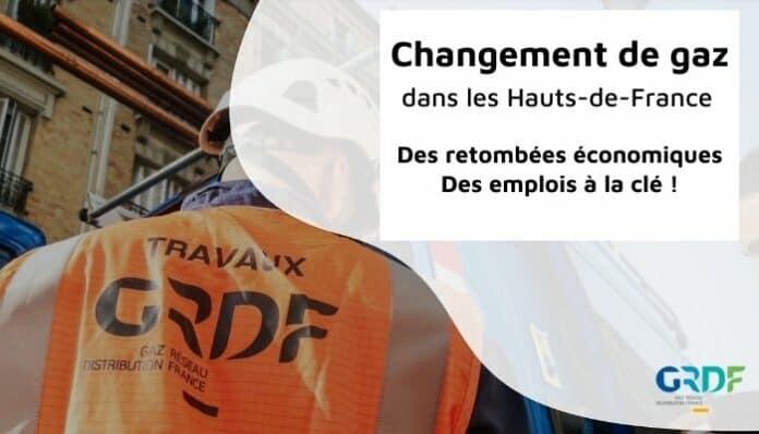Changement de gaz : retombées économiques et emplois pour le territoire
