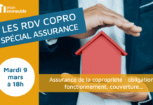 RDV COPRO - spécial assurance de la copropriété