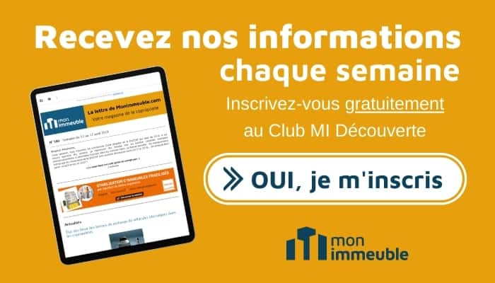 Call to action - lettre information hebdomadaire