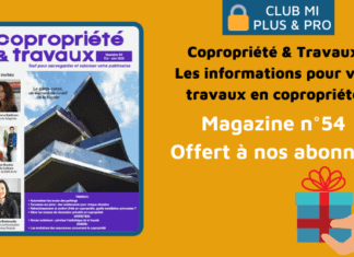 Magazine Copropriété & Travaux n°54