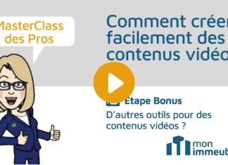 Masterclass des Pros - Des outils pour créer des contenus vidéo