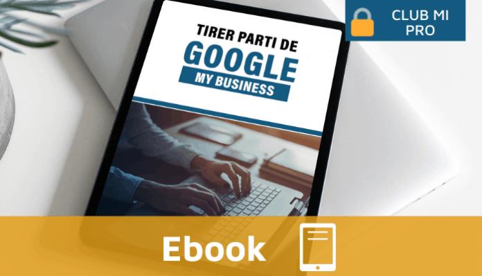 Ebook Monimmeuble Tirer parti de Google My Business