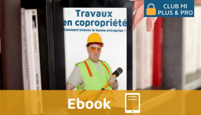Ebook Monimmeuble Travaux en coprorpiété, trouver la bonne entreprise