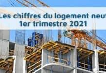 Logement neuf : une légère reprise au premier trimestre 2021