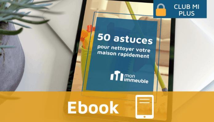Ebook Monimmeuble - 50 astuces pour nettoyer votre maison