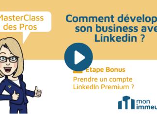Masterclass des Pros - Prendre un abonnement Linkedin Premium