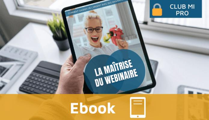 Ebook Monimmeuble - La maîtrise du webinaire