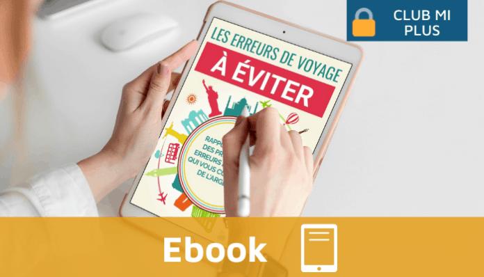 Ebook Monimmeuble - Les erreurs de voyage à éviter