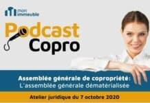 assemblée générale de copropriété