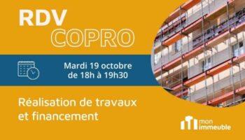 RDV COPRO Octobre 2021 - Réalisation de Travaux et Financement
