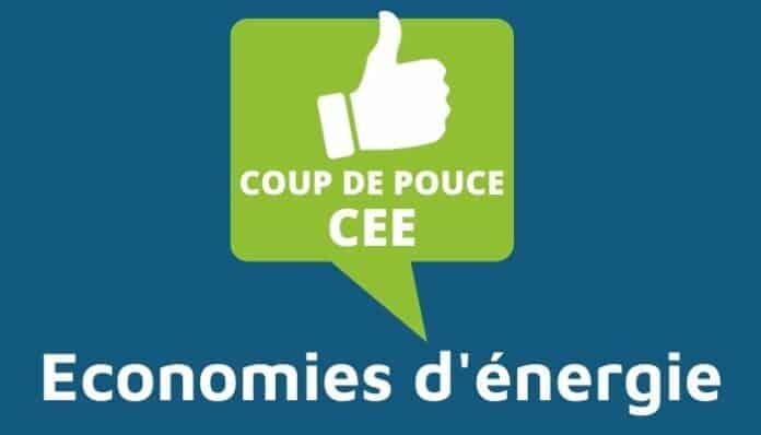 Coup de pouce CEE - économies d'énergie