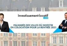 Les meilleures villes pour un investissement locatif en colocation